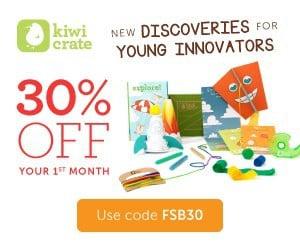 Kiwi Crate 30% Off Coupon