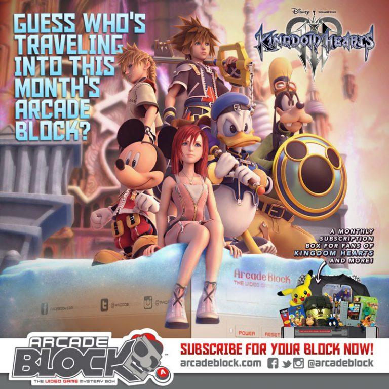 Arcade Block April 2015 Box Spoiler - Kingdom Hearts