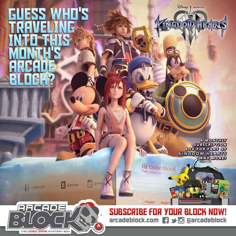 Arcade Block April 2015 Box Spoiler - Kingdom Hearts