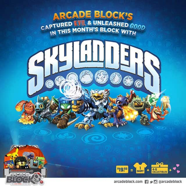 Arcade Block April 2015 Box Spoilers - Skylanders