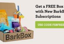 Free Barkbox with Code FSBFREEBARK