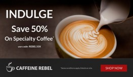 Save 50% Off Your 1st Caffeine Rebel Coffee Box with Code REBEL50X
