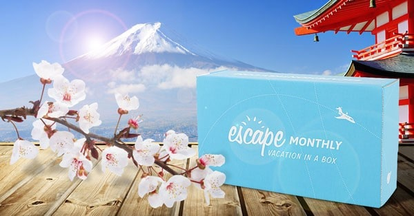 Escape Monthly April 2015 Destination Reveal - Japan