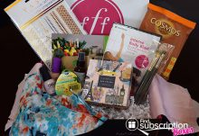 FabFitFun Spring 2015 VIP Box Review - Box Contents