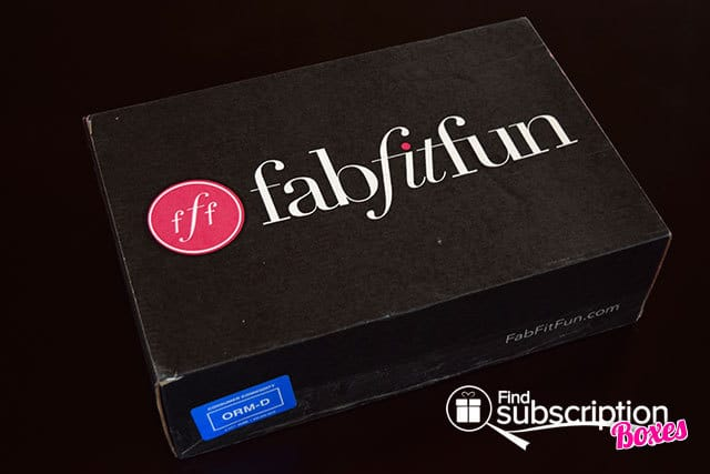 FabFitFun Spring 2015 VIP Box Review - Box