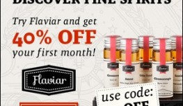 Save 40% Off Your 1st Month of Flaviar