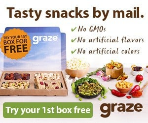 Get Your 1st Graze Box Free Coupon
