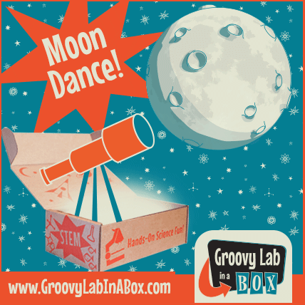 Groovy Lab in a Box April 2015 Theme - Moon Dance