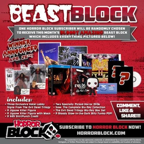 Horror Block April 2015 Beast Block Reveal