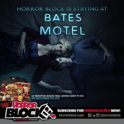 Horror Block April 2015 Box Spoiler - Bates Motel