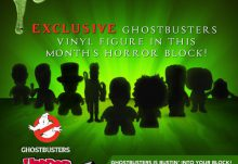 Horror Block April 2015 Box Spoiler - Ghostbusters Vinyl