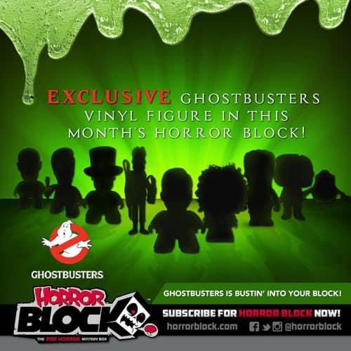 Horror Block April 2015 Box Spoiler - Ghostbusters Vinyl
