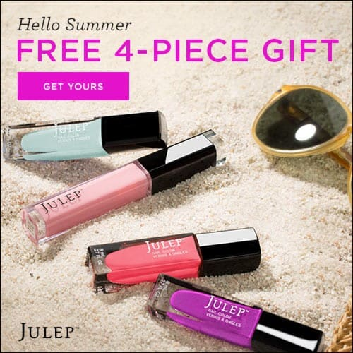 Free 4-Piece Julep Maven Spring Brights Welcome Box