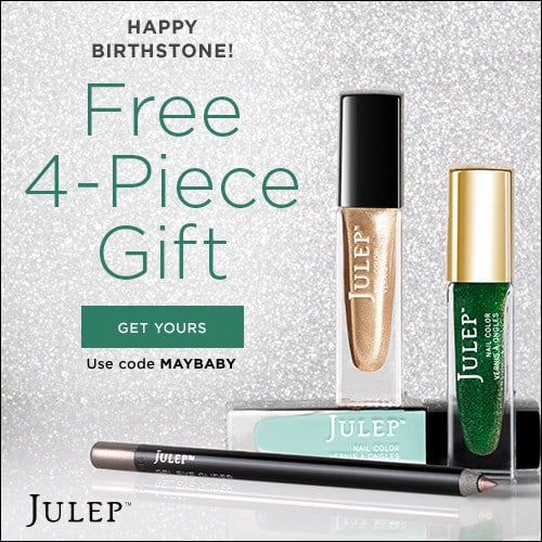 Julep Maven May Birthstone Free Welcome Box