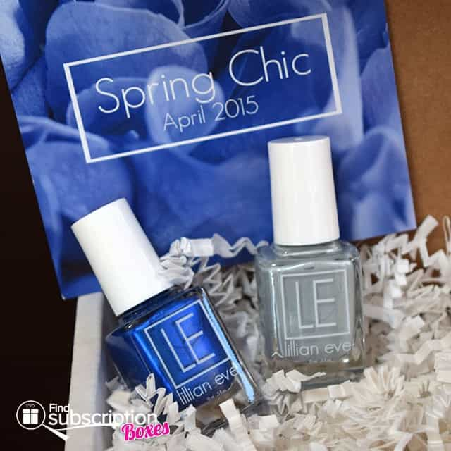 LE Duo Box Spring Chic April 2015 Box Review - Box Contents