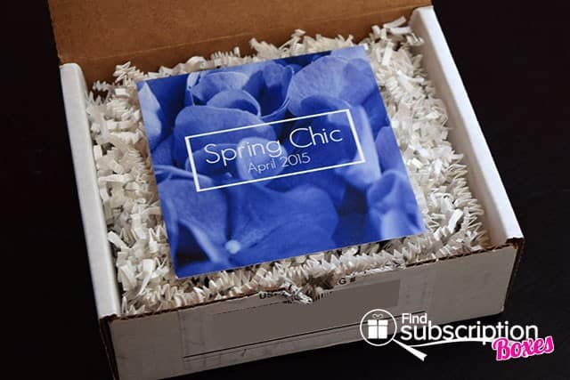 LE Duo Box Spring Chic April 2015 Box Review - Product Card