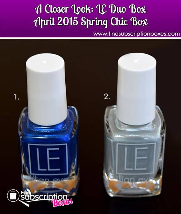 LE Duo Box Spring Chic April 2015 Box Review - Inside the Box