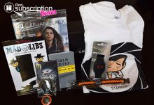 Loot Crate March 2015 Covert Crate Box Review - Box Contents