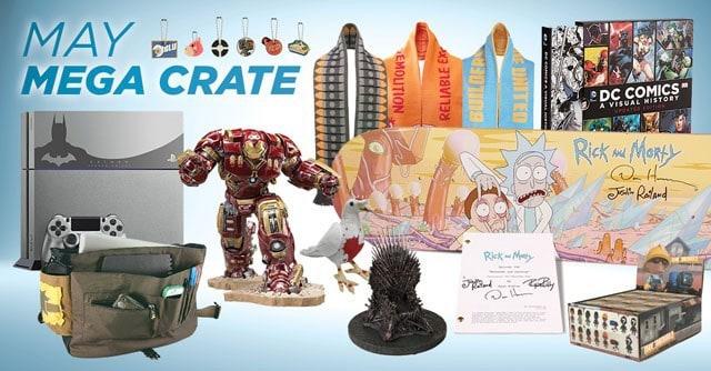 Loot Crate May 2015 Mega Crate