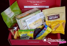 Love With Food April 2015 Tasting Box Review - Box Contents