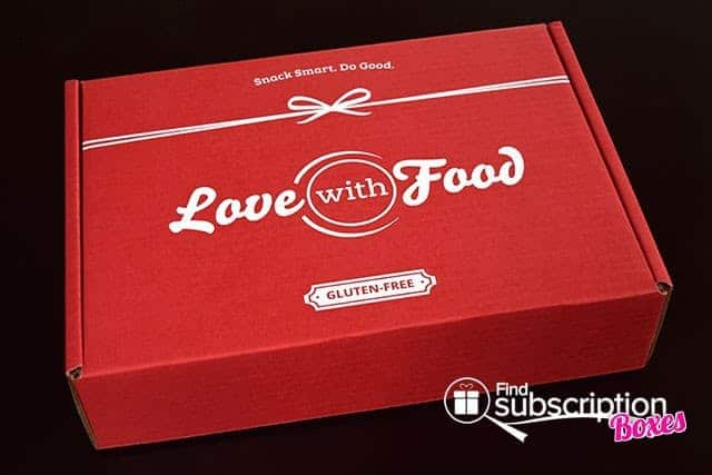 Love With Food March 2015 Gluten-Free Box Review - Box