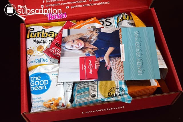 Love With Food March 2015 Gluten-Free Box Review - First Look