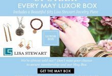 Luxor Box May 2015 Box Spoiler - Lisa Stewart Jewelry