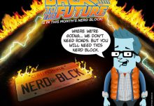 Nerd Block Classic April 2015 Box Spoiler - Back to the Future