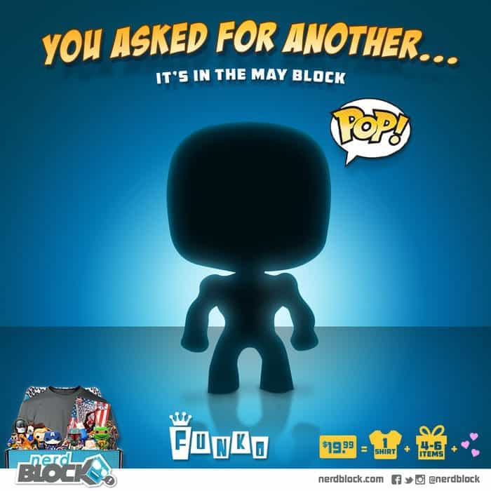 Nerd Block May 2015 Classic Block Spoiler - Funko Pop Figure
