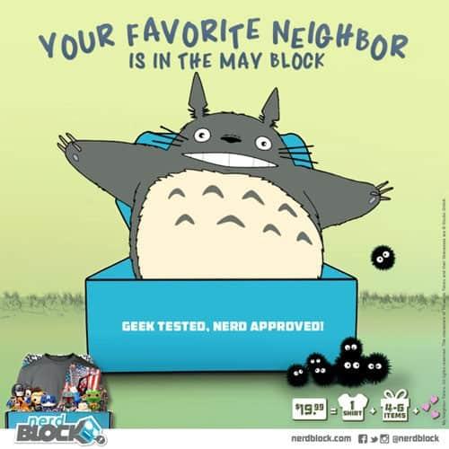 Nerd Block May 2015 Classic Block Box Spoiler - Totoro