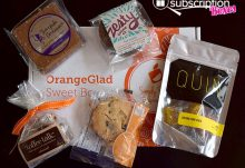OrangeGlad April 2015 Box Review - Box Contents