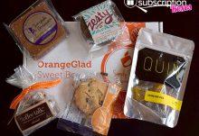 OrangeGlad April 2015 Box Review - Box Contents