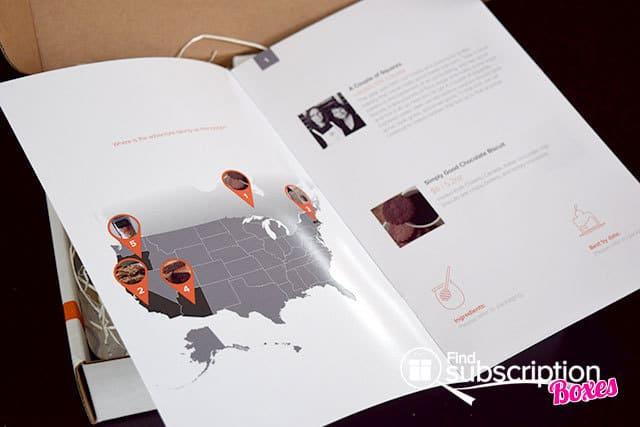 OrangeGlad April 2015 Box Review - Product Flyer