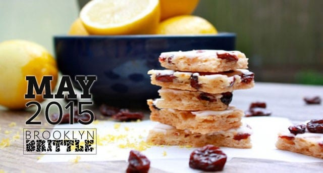 OrangeGlad May 2015 Box Spoiler - Lemon Pomegranate Brittle from Brooklyn Brittle