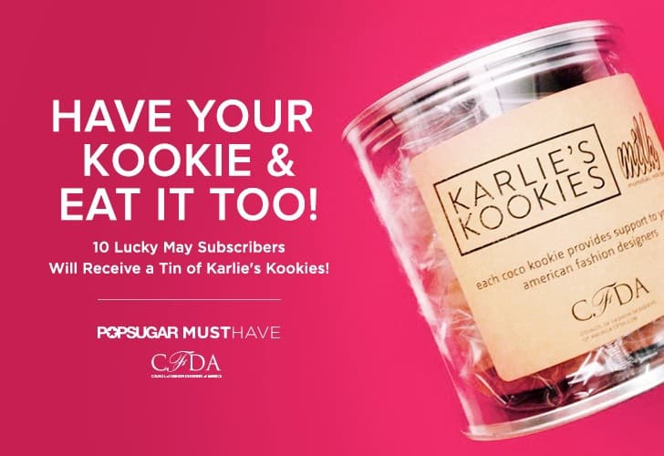 POPSUGAR May 2015 Must Have Win Karlie's Kookies