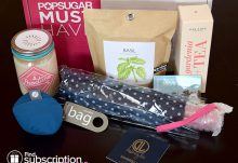 POPSUGAR Must Have April 2015 Box Review - Box Contents