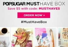 POPSUGAR Must Have Coupon - Save $5