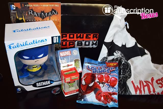 Power Up Box April 2015 Box Review - Box Contents