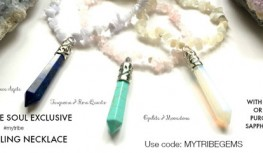 Get a FREE Gem Healing Necklace with New Sapphire Soul Balance Box Subscriptions with code MYTRIBEGEMS