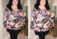 Spring 2015 Gwynnie Bee Style Review - XTWO Belladonna