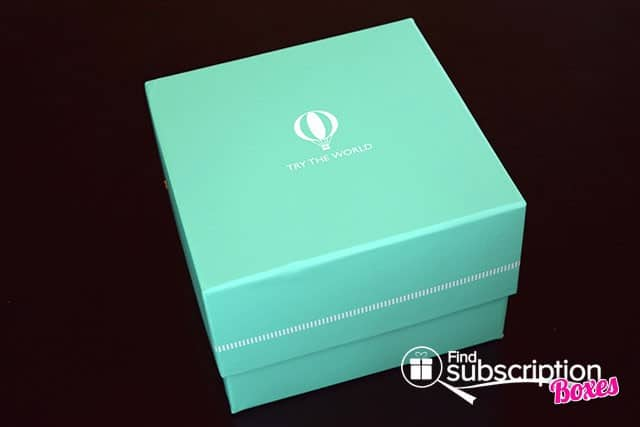 Try The World April 2015 Marrakesh Box Review - Box