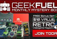 Geek Fuel Free Retro Magazine