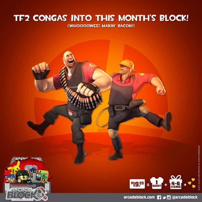 Arcade Block June 2015 Box Spoiler - Team Fortress 2