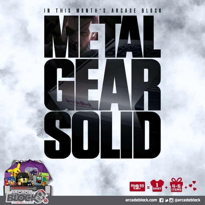 Arcade Block May 2015 Box Spoiler - Metal Gear Solid