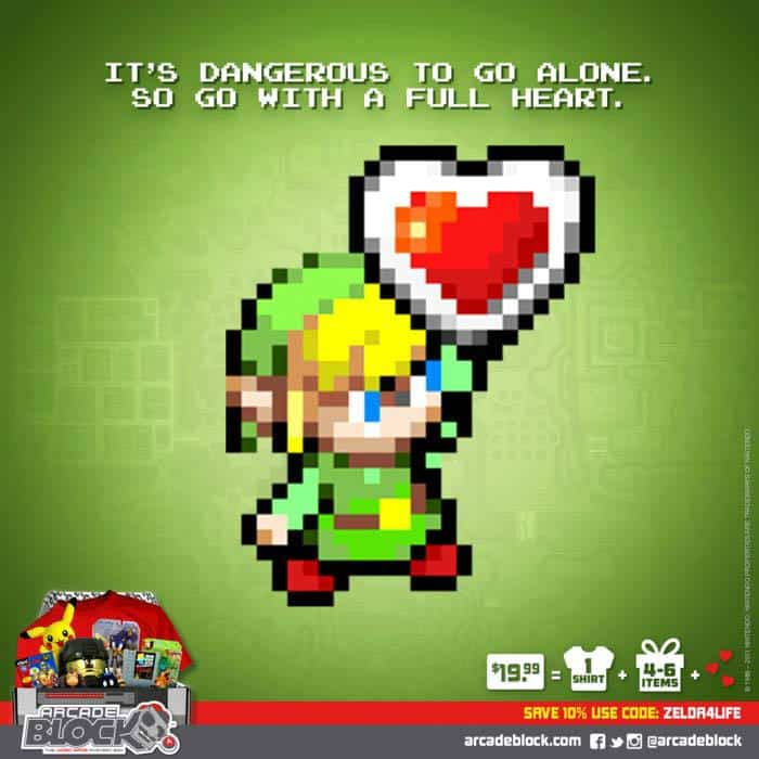 Arcade Block May 2015 Box Spoiler - Zelda