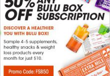 Save 50% Off Any Bulu Box Subscription