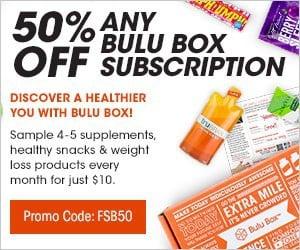Save 50% Off Any Bulu Box Subscription