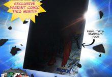 Comic Block May 2015 Box Spoiler - Variant Comic Book Cover