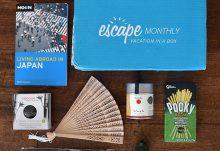 Escape Monthly April 2015 Japan Box Review - Box Contents