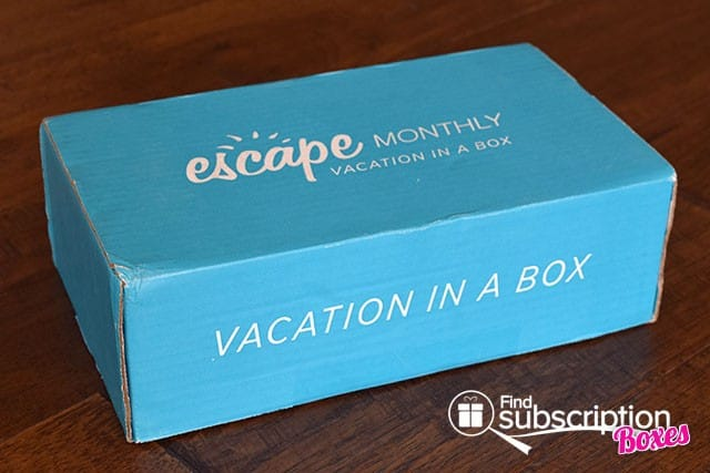 Escape Monthly April 2015 Japan Box Review - Box
